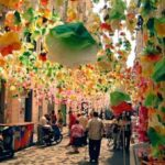 strade -festa major de gracia street decorations