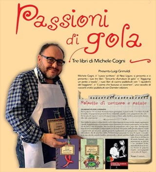 michele cogni chef e scrittore