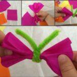 riciclo creativo carta pesta fiocchi