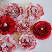riciclo creativo carta pesta fiori